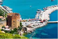 Transfer from Antalya airport to Alanya