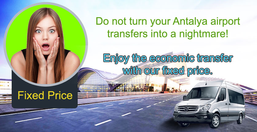 Antalya Airport Transfer Fixed Price