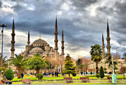 Transfer from Sabiha Gokcen airport to Blue Mosque