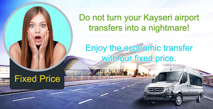 Kayseri Airport Transfer Fixed Price