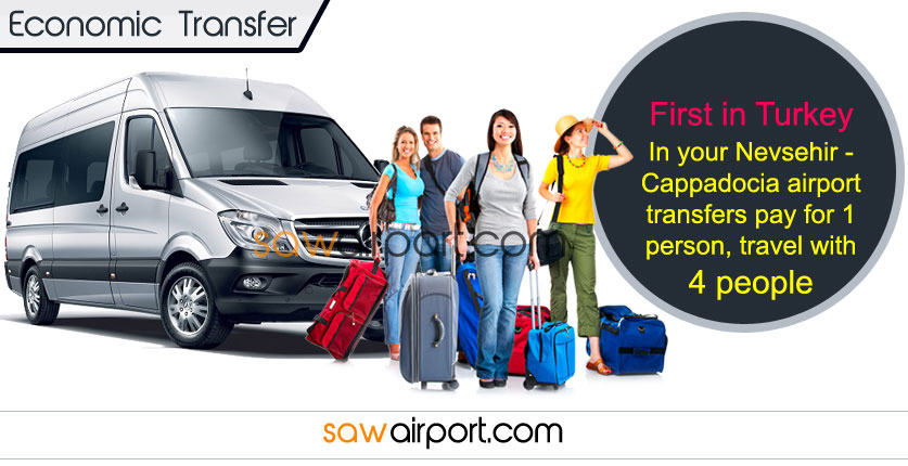 Nevsehir - Cappadocia Airport Economic Transfer