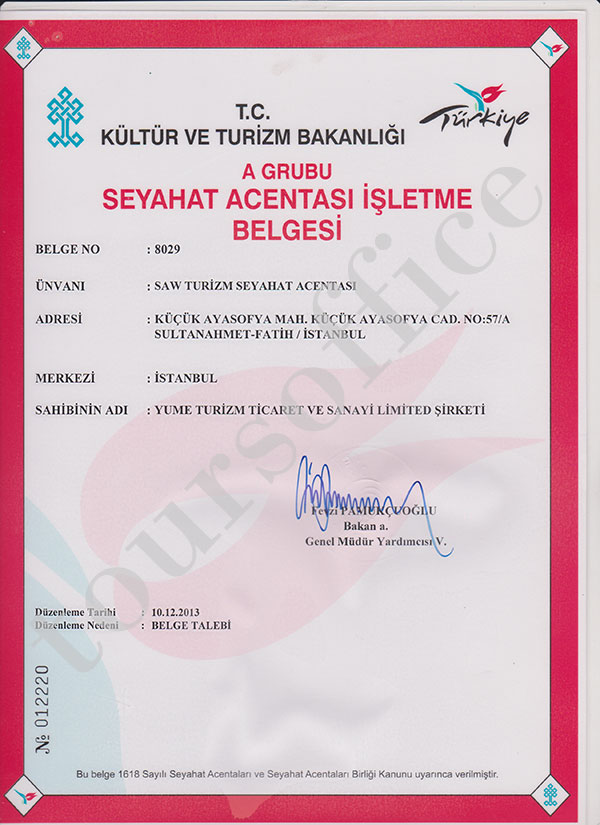 association of turkish travel agencies